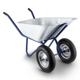 Waldbeck Heavyload talicska, 120l, 320kg, kerti talicska, kétkerekű, acél, kék