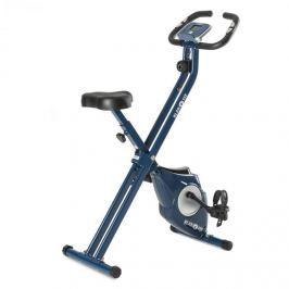 Klarfit Azura X-Bike szobakerékpár, max. 100 kg, pulzusmérő, összecsukható, 3 kg, kék