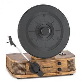 Auna Verticalo S, gramofon retro dizájnnal, vertikális gramofon tányér, USB, MP3, vonalas kimenet