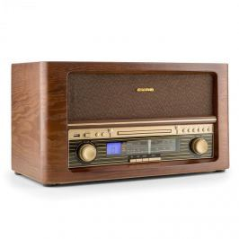 Auna Belle Epoque 1906 , retro sztereó rendszer, CD, USB, MP3, AUX, FM/AM