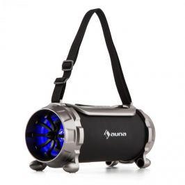 Auna Blaster S, BT hangfal, microSD, 15 W, RMS, AUX, FM, IPX4, védett a fröccsenő víz ellen