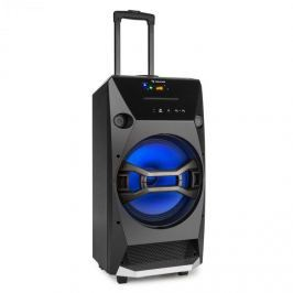 Auna Brooklym BEAT, 100 W RMS, mobil hangfal doboz, bluetooth, USB, SD, CD lejátszó, FM, LED