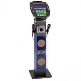 Auna KaraBig karaoke rendszer, bluetooth, LED 7'' TFT, CD, USB, beépített hangszóró