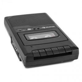 Auna RQ-132USB, hordozható kazettás felvevő, diktafon, mikrofon, micro USB