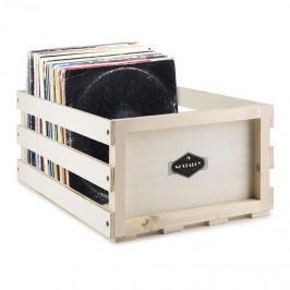 Auna Nostalgie by auna Record Box WD, lemeztartó doboz, fa