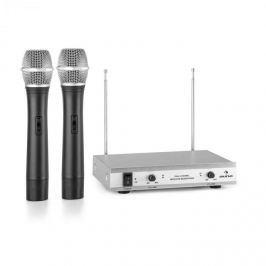 Auna VHF-2-H 2-csatornás VHF mikrofon készlet, 2x kézi mikrofon, 50m