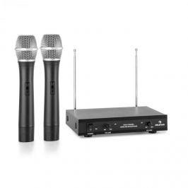 Auna VHF-2-H 2-csatornás VHF mikrofon készlet, 2x kézi mikrofon 50m