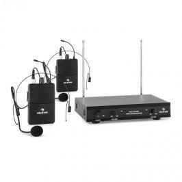 Auna VHF-2-HS 2-csatornás VHF mikrofon készlet, 2x headset, 50m
