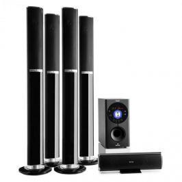 Auna Areal 652 5.1 csatornás surround rendszer, 145 W, RMS, bluetooth, USB, SD, AUX