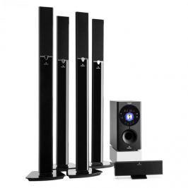 Auna Areal 653 5.1 csatornás surround rendszer, 145 W, RMS, bluetooth, USB, SD, AUX