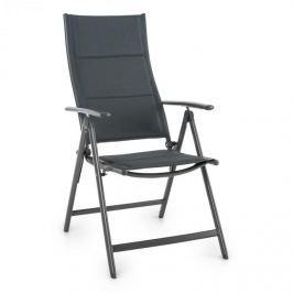 Blumfeldt Stylo Noble Grey, szürke, összecsukható szék, alumínium