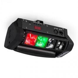 Ibiza LED8-Mini LED fényeffekt, DMX, szerelő tartóval