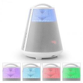 LTC FREESOUND65, fehér, bluetooth hangfal, akkumulátor, 360°-os hangosítás, LED, AUX, USB, FM