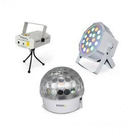 Ibiza BAT-KIT fényeffekt szett, Astro effekt, Firefly laser, PAR reflektor