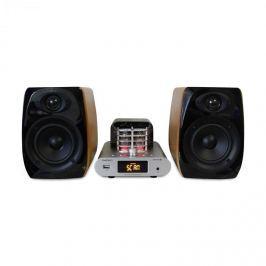 Madison MAD-TA15BT, 2 x 30 W RMS, vintage audio rendszer, csöves erősítő, bluetooth, USB
