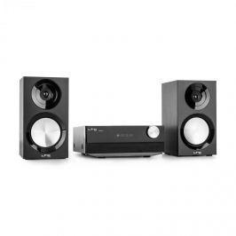 LTC CDM90-BL mikro HiFi sztereó rendszer, 40 W, bluetooth, USB, CD, FM/AM, fekete