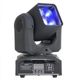 Ibiza LMH410Z Moving Head forgófejes fényeffekt, 4 x 4 az 1-ben, 10 W RGBW LED, Zoom, DMX