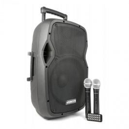 Vonyx AP1200PA, mobil PA rendszer, 30 cm (12''), bluetooth, USB, SD, MP3, VHF tölthető akkumulátor