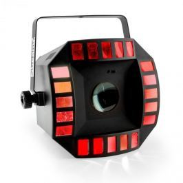 Beamz CUB4 II LED, 2-in1-LED fényhatás, quad derby moonflowerrel, 64 LED, RGBAW