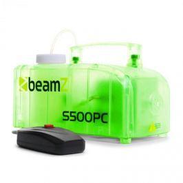 Beamz S500PC füstgép, RGB LED, 500 W, füstfolyadék, átlátszó