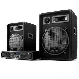 Electronic-Star DJ PA szett 1000 Wattos rendszer, erősítő, hangfalak & kábel