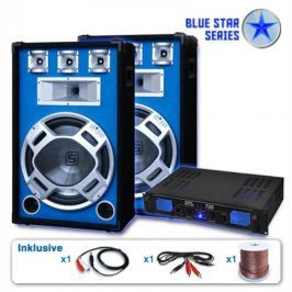 "Skytronic BLUE STAR SERIES ""BEATSTAR"" PA KÉSZLET, 2000 W"