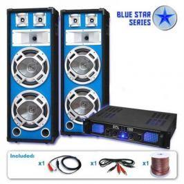 "Electronic-Star BLUE STAR SERIES ""BASSKERN"" PA KÉSZLET, 2800 W"