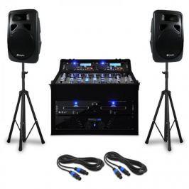 Electronic-Star DJ PA szett Punch Line 1200 W, keverőpult, USB, SD portok