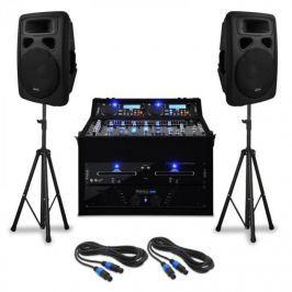"""Electronic-Star DJ PA szett """"Urban Trip-Hop Beats"""" 1000 W teljesítménnyel"""