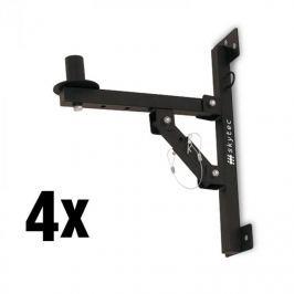 Skytec 4 x fali PA hangszóró tartó, állvány, fekete, 50 km max.