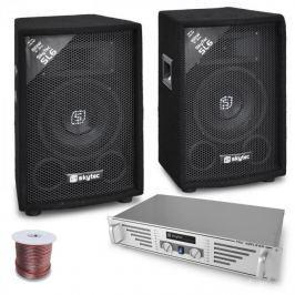 Skytec 'DJ Rookie' szett 800W PA erősítő, hangfalak, 800 W