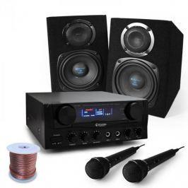 """Electronic-Star Karaoke szett """"Pony Ranch"""" hangszórókkal,mikrofonnal,400 W Karaoke Star széria"""