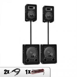 Malone Auna 2.2 DJ Sound System Hangfalak, Mélynyomó szett 2200W