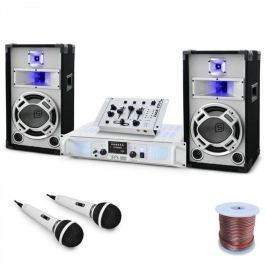 """Electronic-Star DJ PA szett """"Polar fox"""" 1500 W telj., keverőpult, erősítő"""