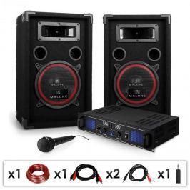 """Electronic-Star DJ PA szett """"DJ-14"""", PA erősítő, hangszórók, 1000 W"""