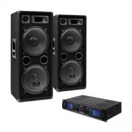"""Electronic-Star """"DJ-20"""" DJ SET, PA ERŐSÍTŐ, PA HANGFAL, 2000 W"""