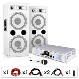 "Electronic-Star DJ PA rendszer ""DJ-22"", erősítő, hangszóról, 1000W"