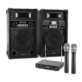 Electronic-Star Karaoke szett STAR-8, hangfalak, drótnélküli mikrofonok 800W