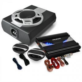 Electronic-Star 2.1 Autó HiFi szett BlackLine 340, erősítő, hangfalak, subw.