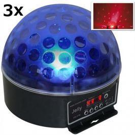Beamz Magic Jelly, 3 x LED fenyeffekt, RGB, DMX