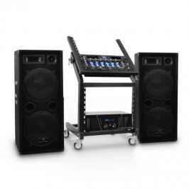 Electronic-Star Rack Star Series Mars Flash DJ PA szett, Bluetooth