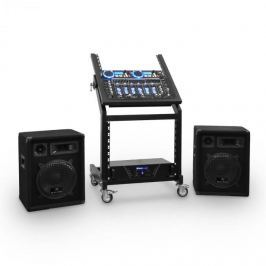 Ibiza Rack Star Series Uranus Blues PA szett, Bluetooth, 250 személy