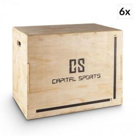 """CAPITAL SPORTS Shineater BL, pliobox készlet, dobozok ugrálásra, 3 magasság 20"""", 24"""", 30"""", fa"""