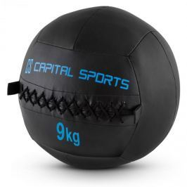 CAPITAL SPORTS Epitomer Wall Ball Set, fekete, 9 kg, műbőr, 5 darab