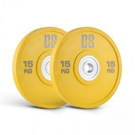 CAPITAL SPORTS Performan uretán tárcsasúly pár, 15 kg, sárga