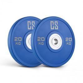 CAPITAL SPORTS Performan Urethane Plates, kék, 20 kg, pár súlyzótárcsa