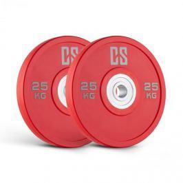 CAPITAL SPORTS Performan Urethane Plates, piros, 25 kg, pár súlyzótárcsa