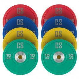 CAPITAL SPORTS Performan Full Set, súlytárcsák, 4 pár, 10 – 25 kg