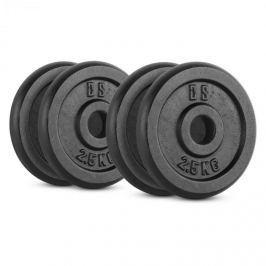 CAPITAL SPORTS IPB 10 kg set, súlytárcsa készlet, 4 x 2,50 kg, 30 mm