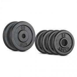 CAPITAL SPORTS IPB 15 kg set, súlytárcsa készlet, 4 x 1,25 kg + 2 x 5 kg, 30 mm